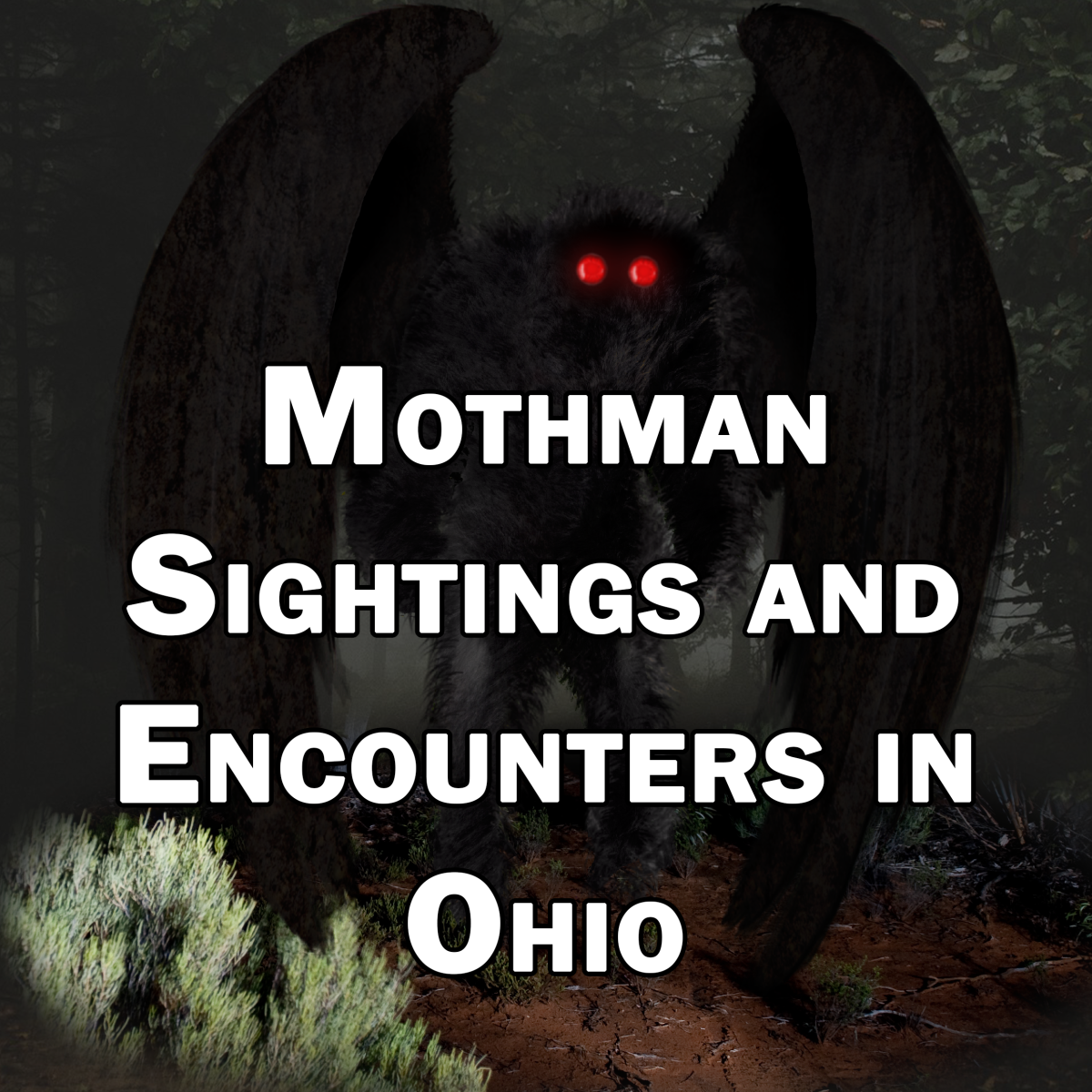 Mothman Sightings and Encounters in Ohio
