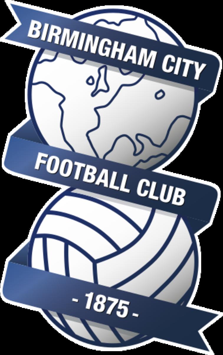 The Birmingham City FC Club badge.