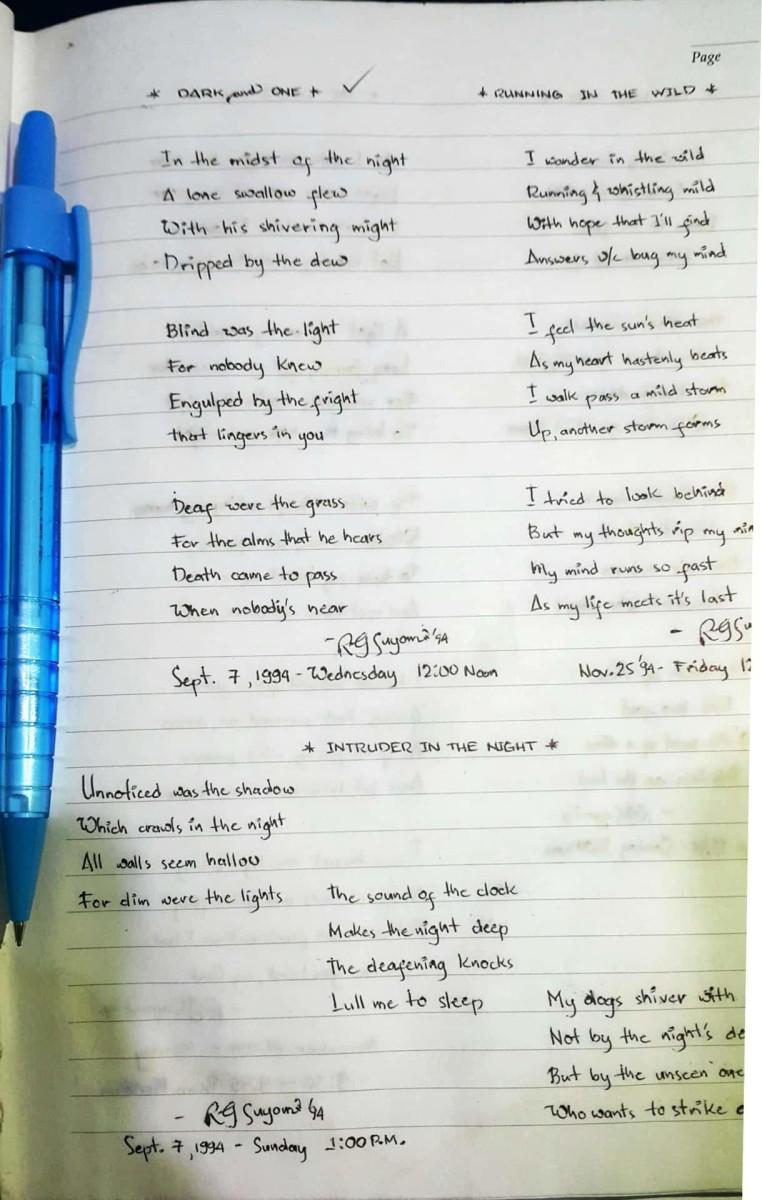 Poetic Journey Down Memory Lanes
