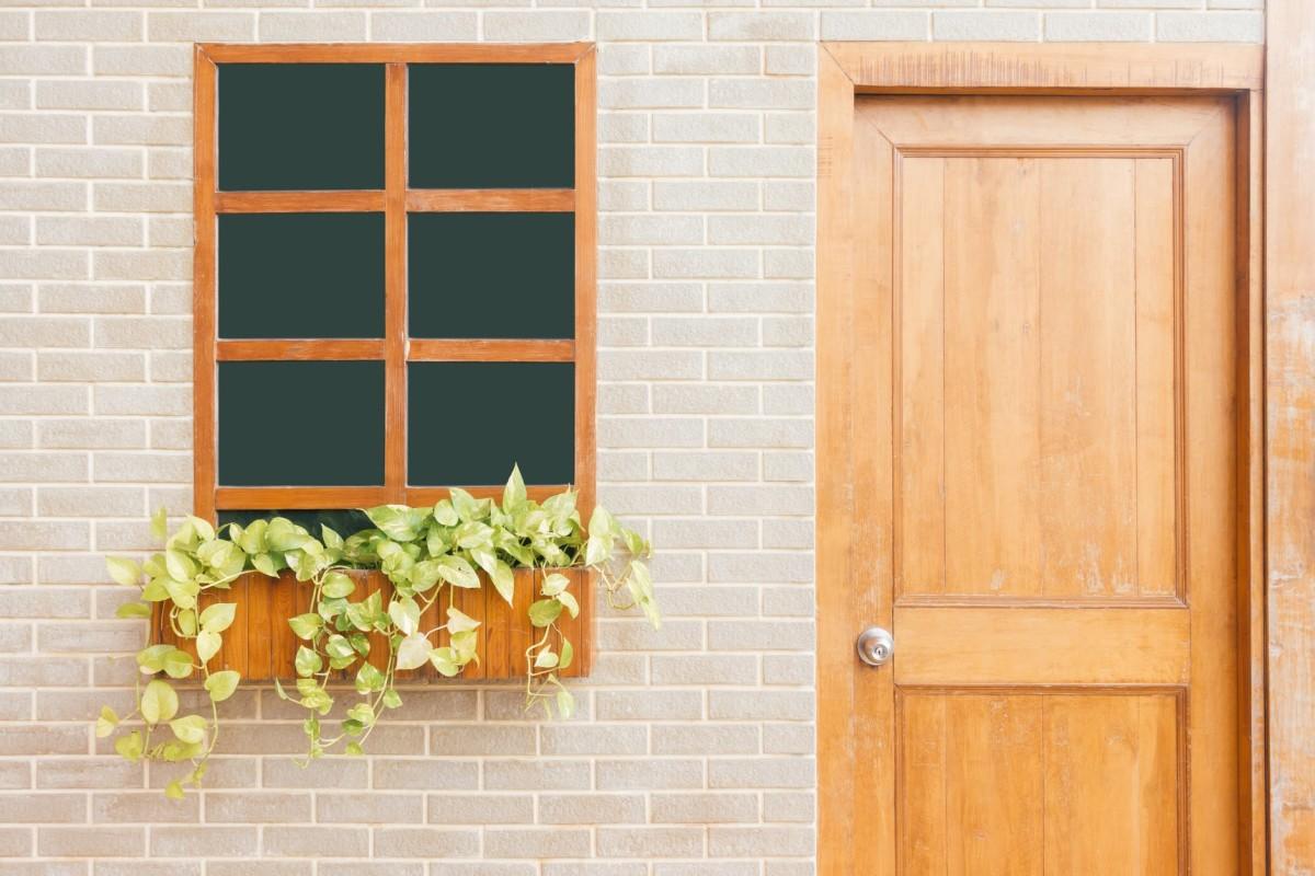 This beautiful door was wide and tall enough, Mrs. Simmons' door always creaked.