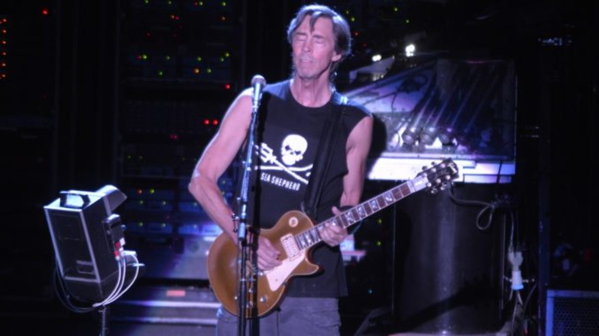 Tom Scholz and the Gibson Les Paul