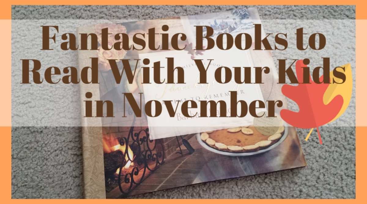Fantastic Books to Read With Your Kids in November