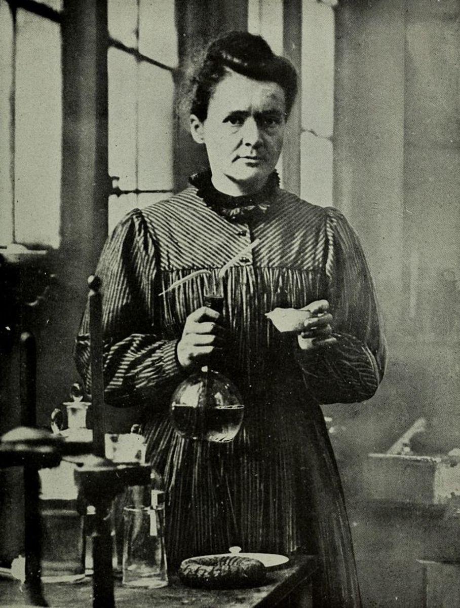 Marie Curie c.1921