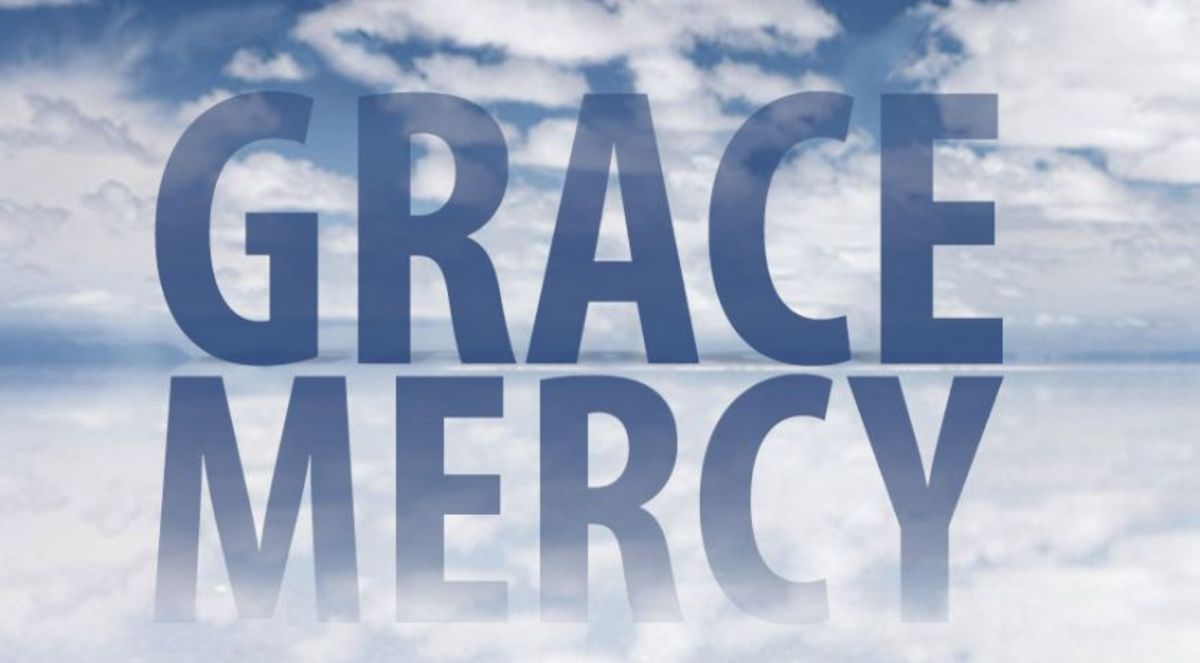 Grace and Mercy: What's the Difference?