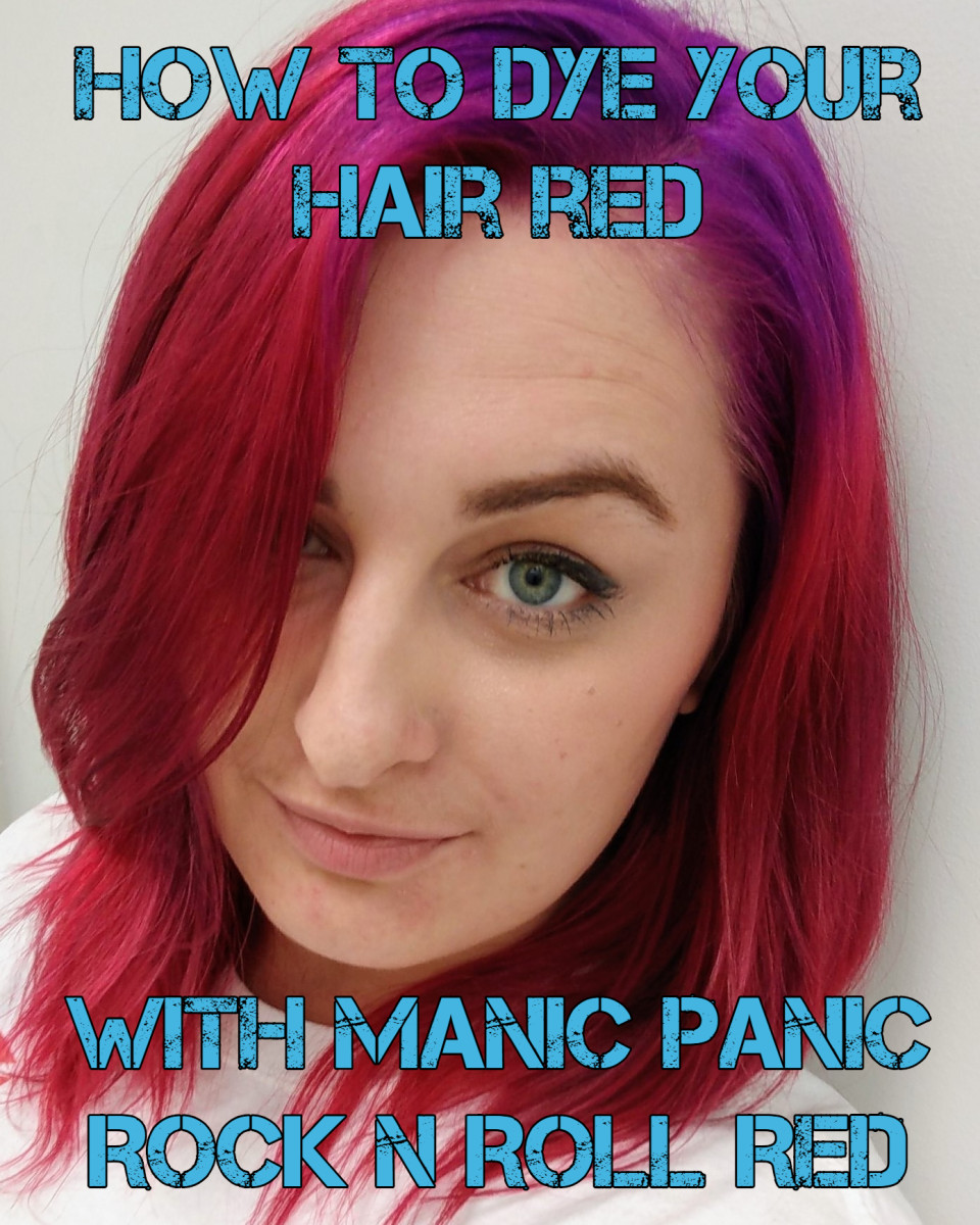 How to Dye Your Hair Red: A Review of Manic Panic Rock 'n Roll Red