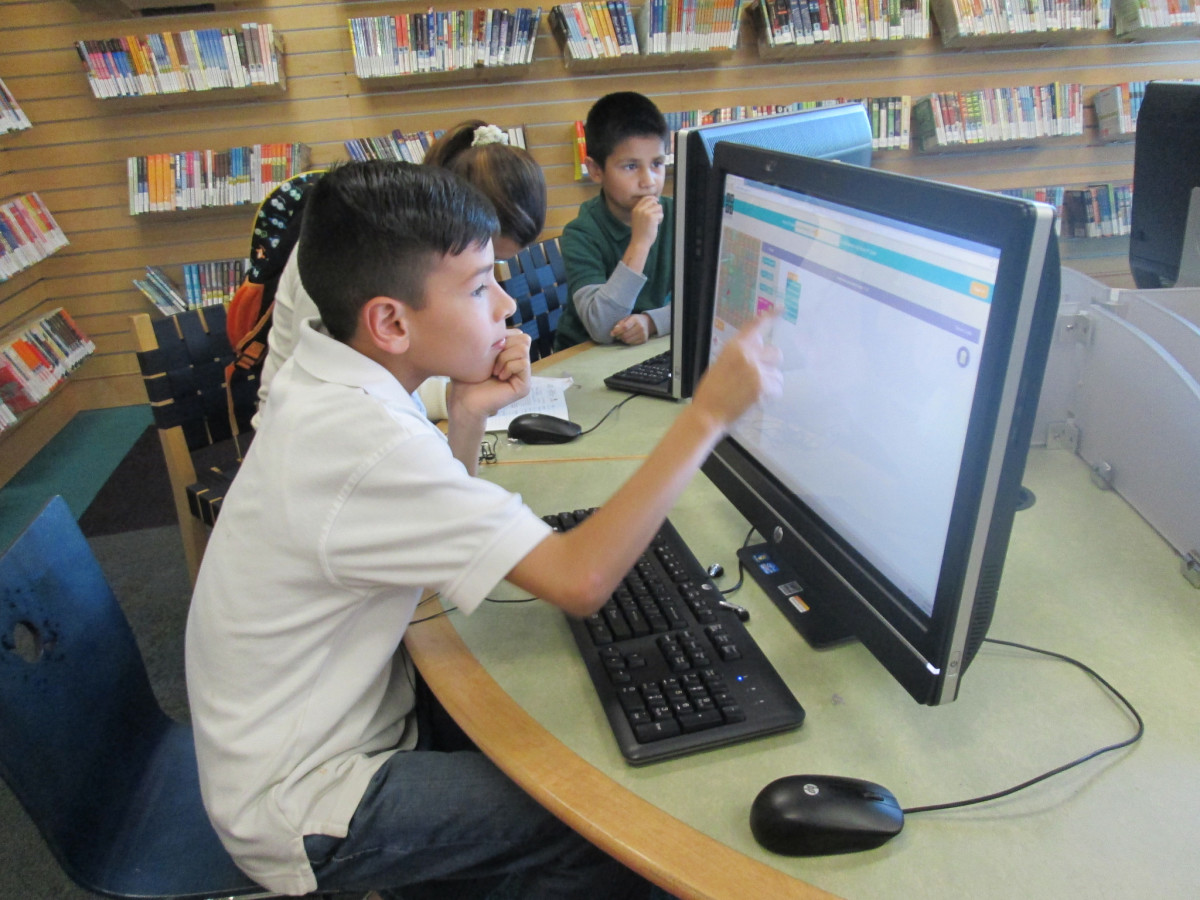 Hour of Code at San Jose Public Library
