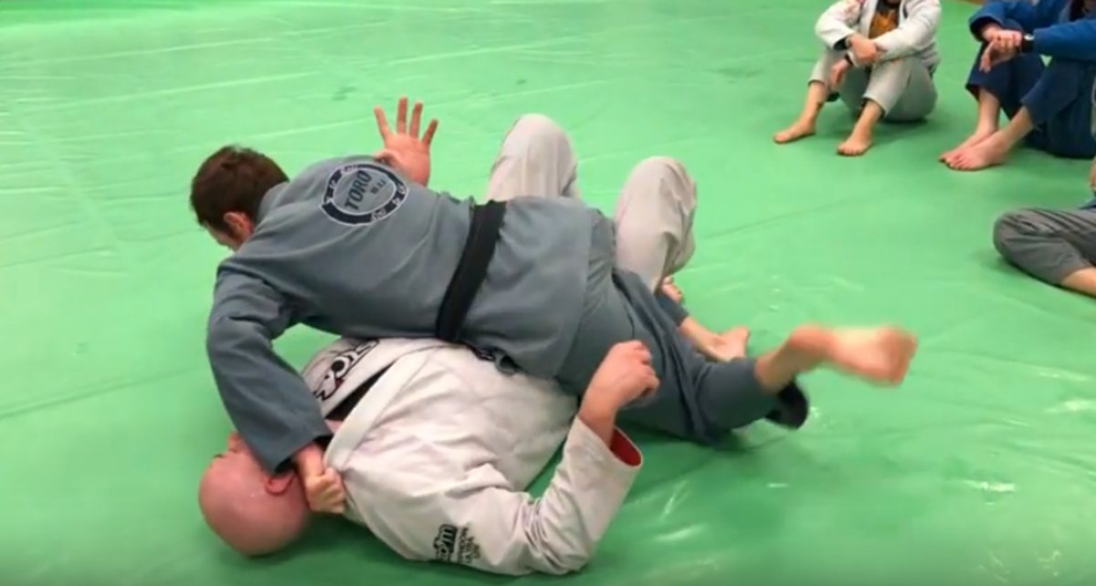 Few ways to keep your partner flat on their back work better than a classic crossface from half guard.