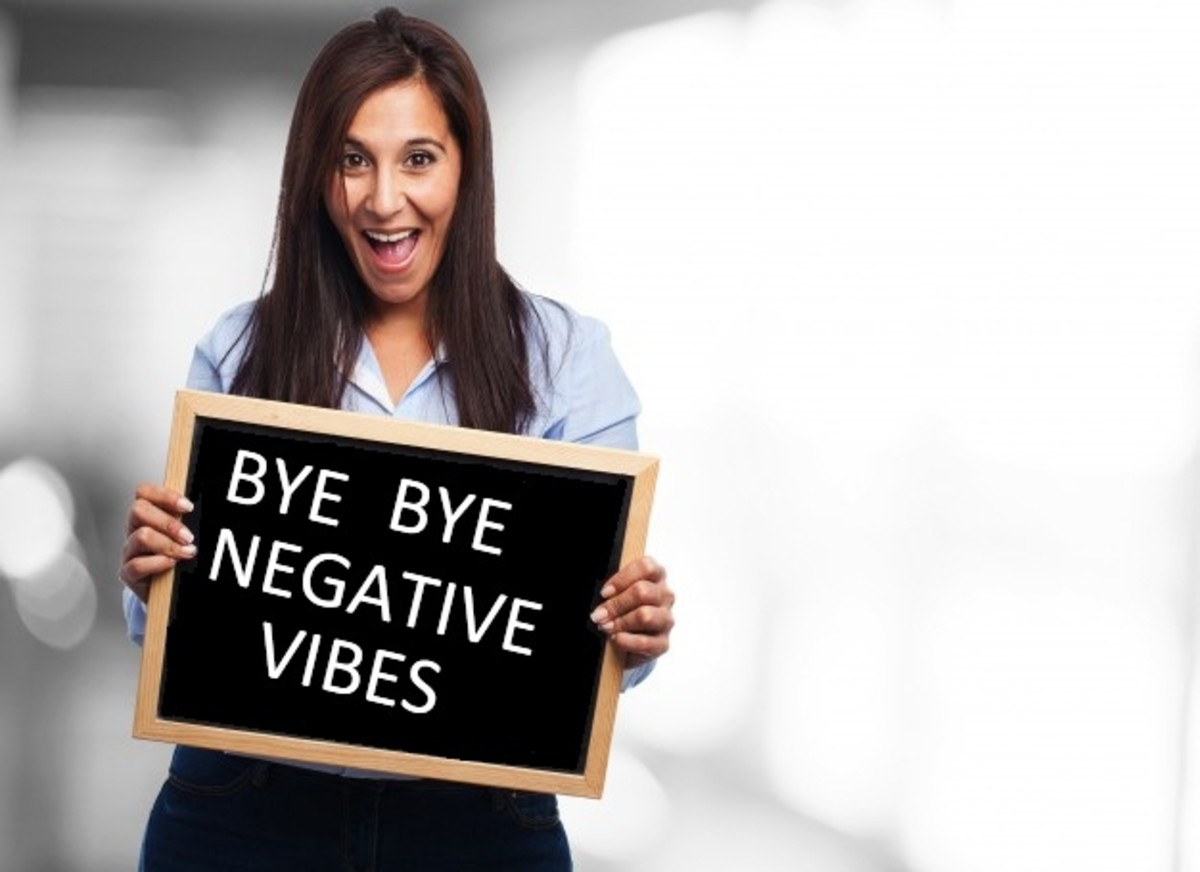 Say Bye to Negative Vibes