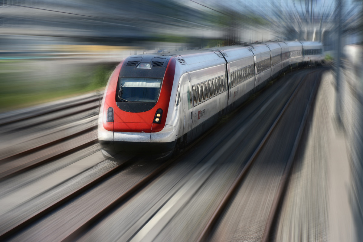 A mistake that's faster than this speeding train.