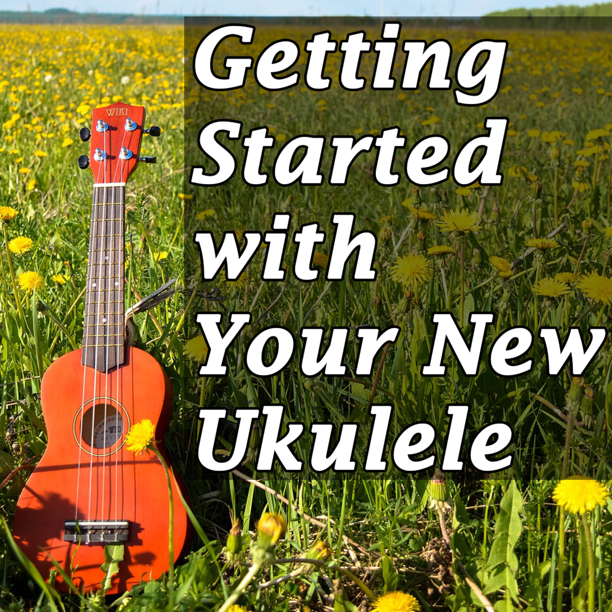 Getting Started With Your New Ukulele