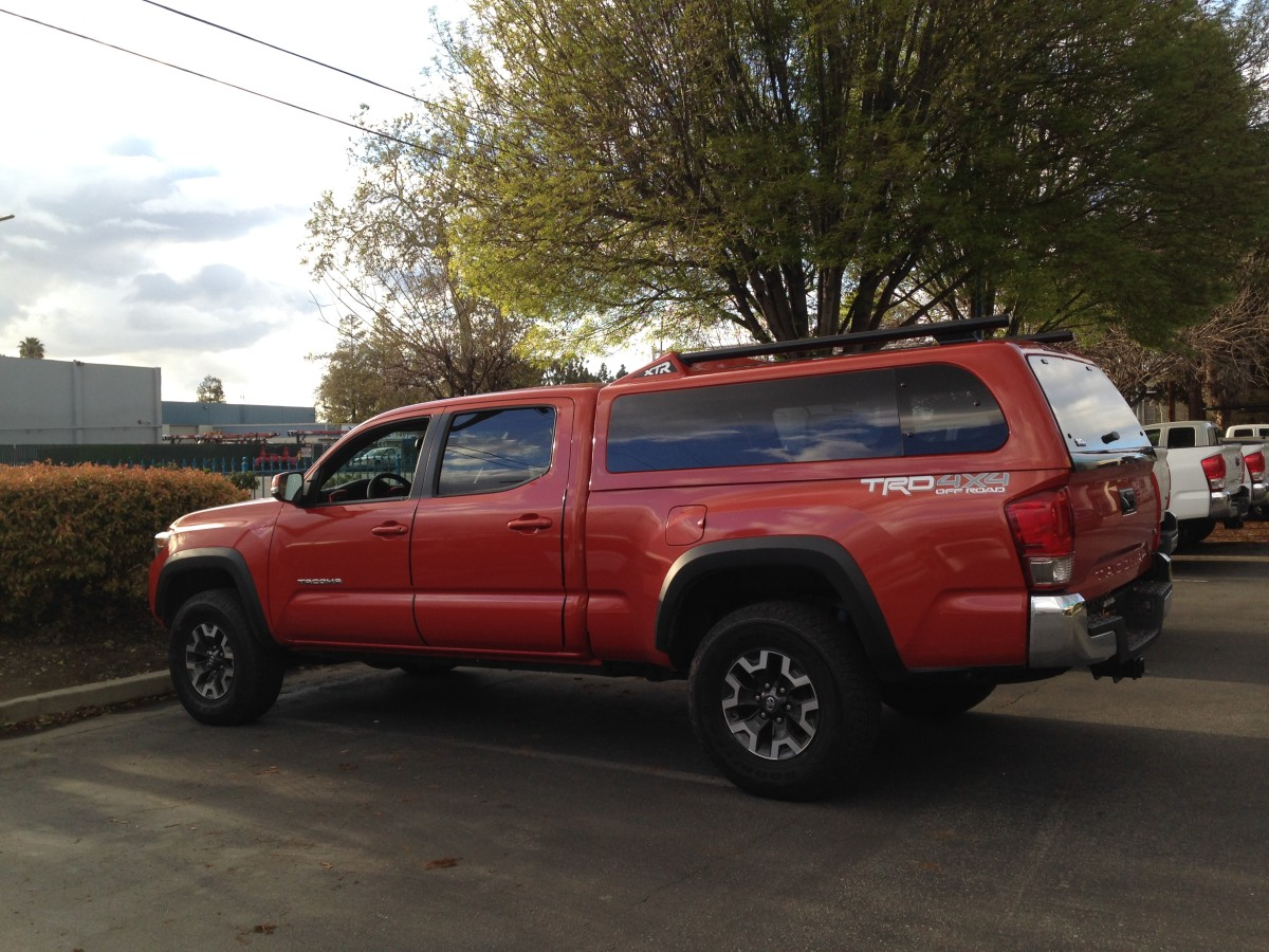 Different Types of Camper Shells for Toyota Tacomas