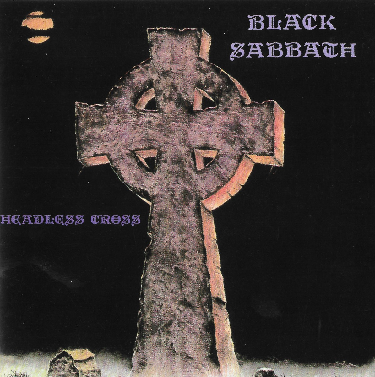 """""""Headless Cross"""" CD cover"""