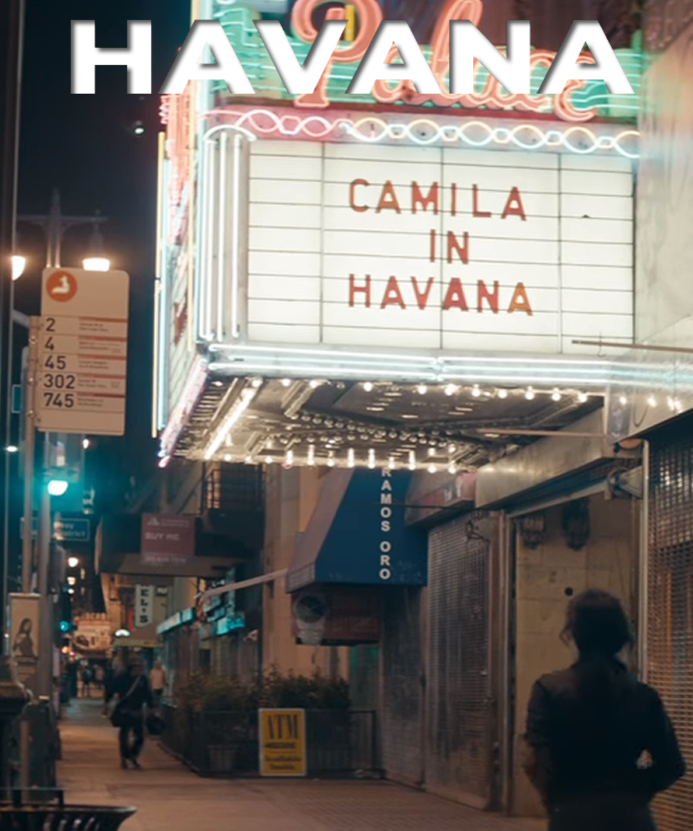 American singer, Camila Cabello, is a big draw in Havana. No last name necessary.