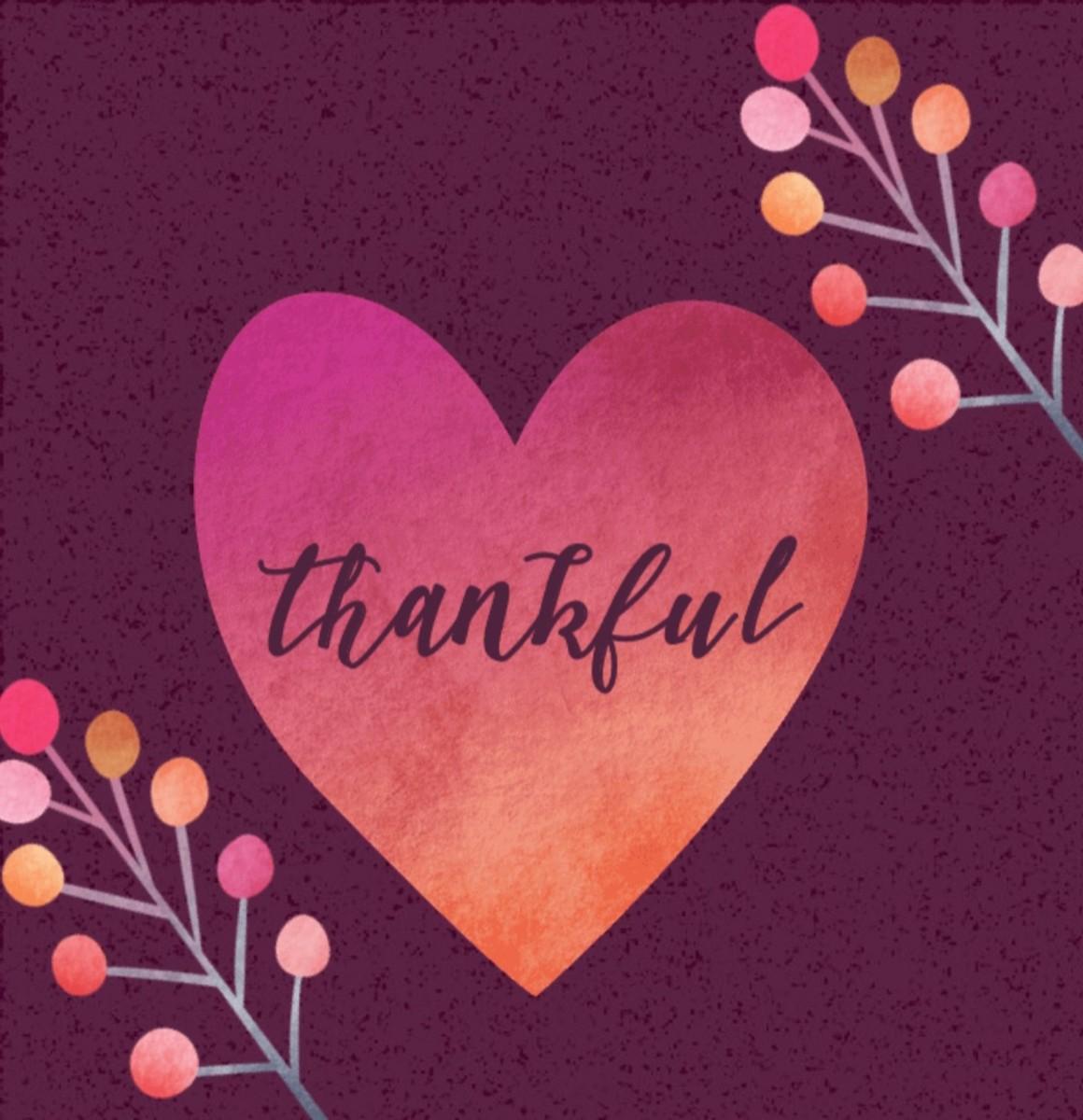 Thankful (A Thanksgiving Poem)