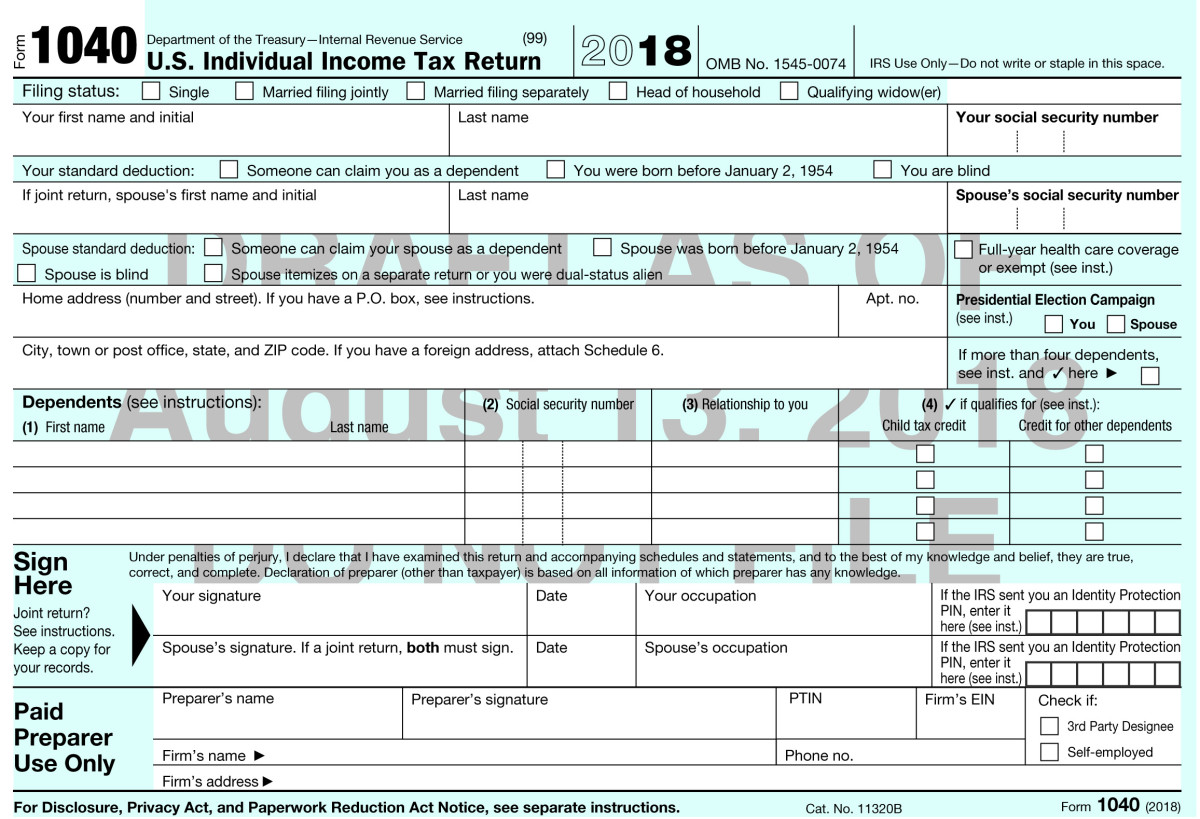 Some Changes in Your 2018 Income Tax