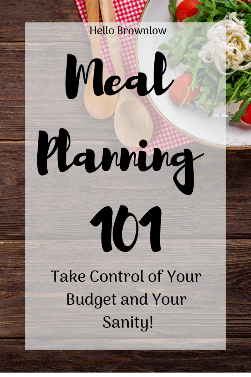 Learn how to save money and grocery shop efficiently by planning meals.