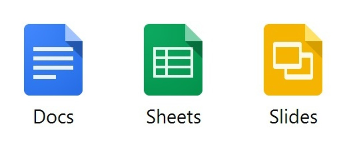 Google Docs, Sheets, and Slides offer an online alternative to Microsoft Office Programs Word, Excel, and Powerpoint