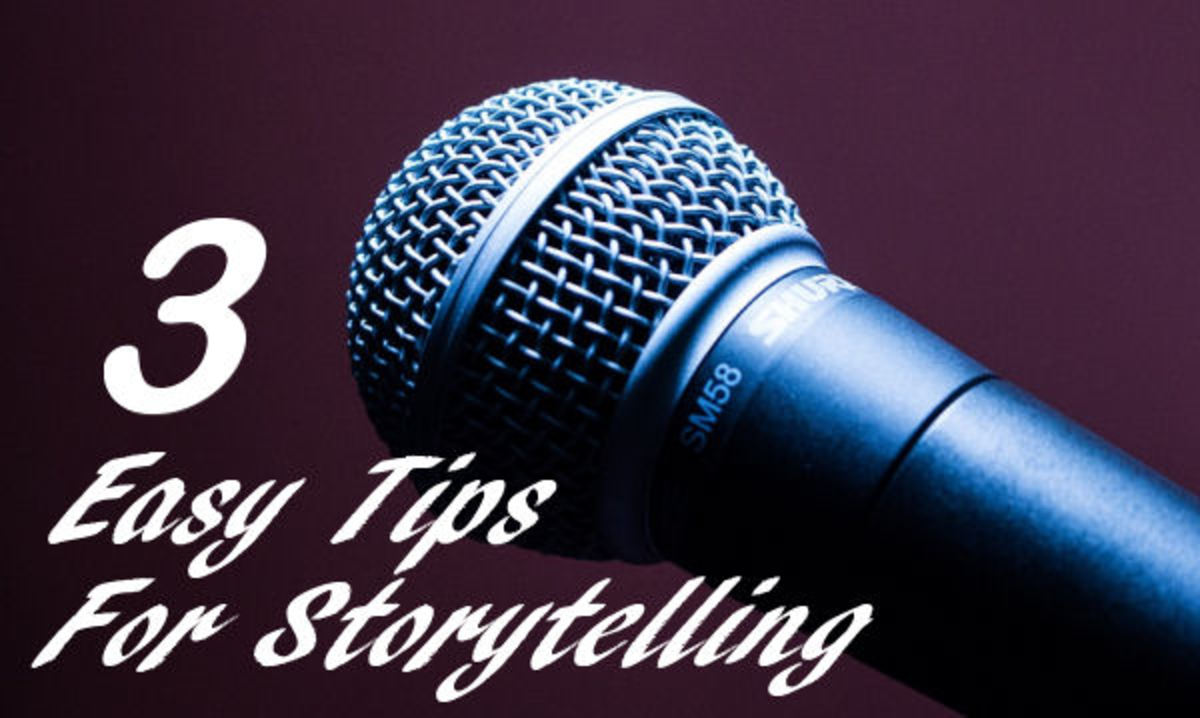 Story telling microphone
