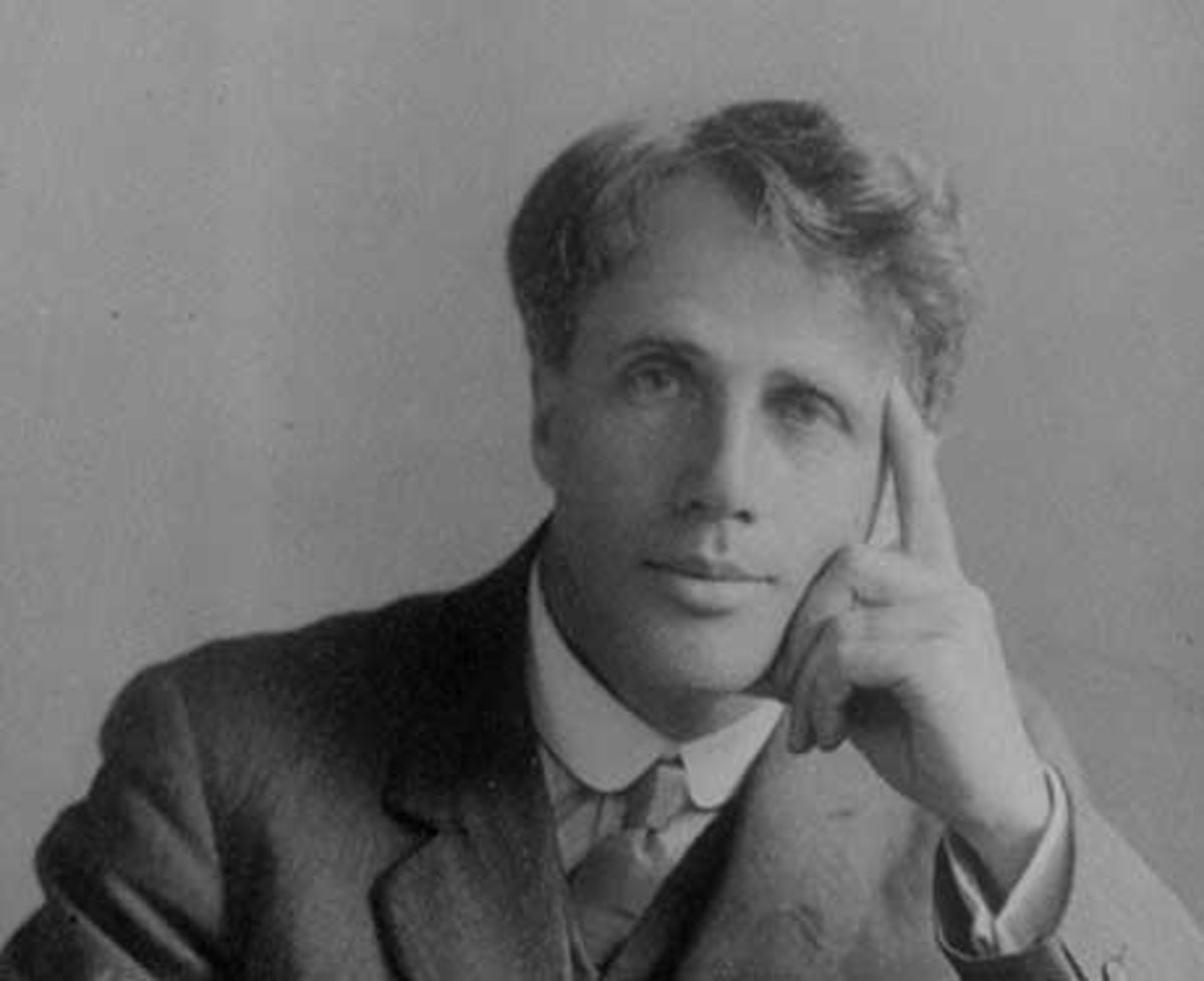 out out robert frost literary devices