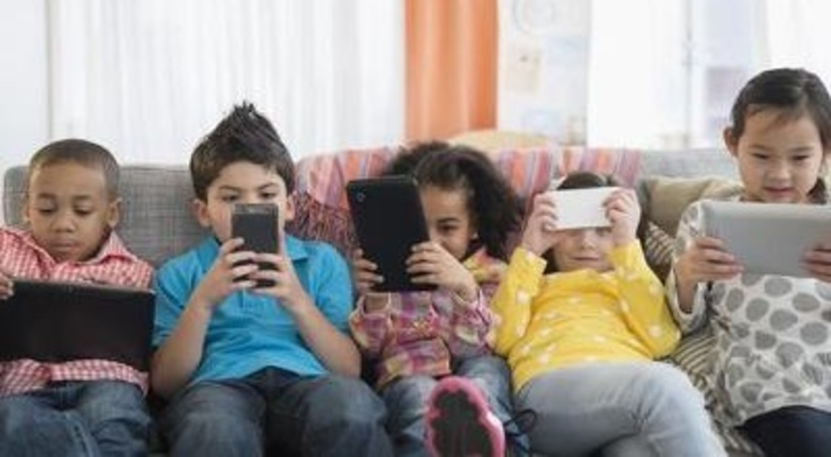 For more information on kids being addicted to technology, see the source URL I have attached