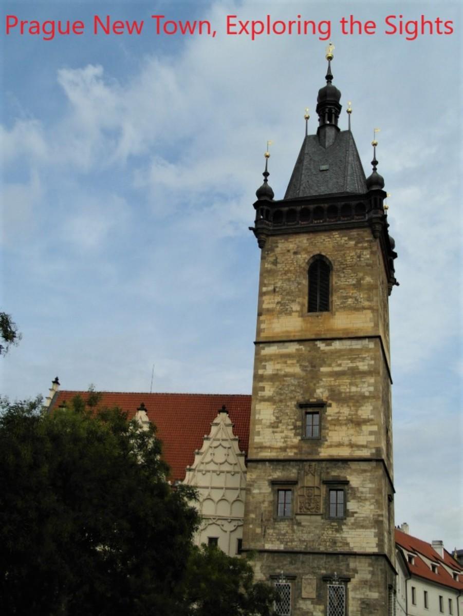 New Town Hall, Prague.