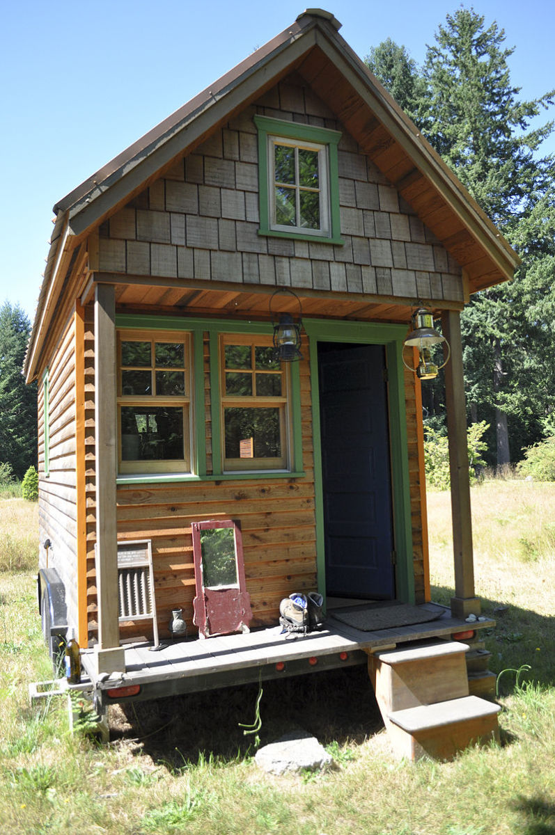 Tiny houses have big character. The owners of tiny houses often build or design their own homes, and can put their personality into the layout and design elements of the home.