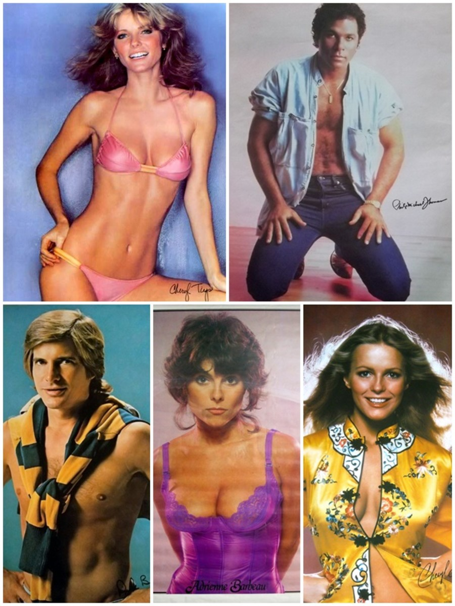 Classic Personality Posters of the 1970s and 1980s