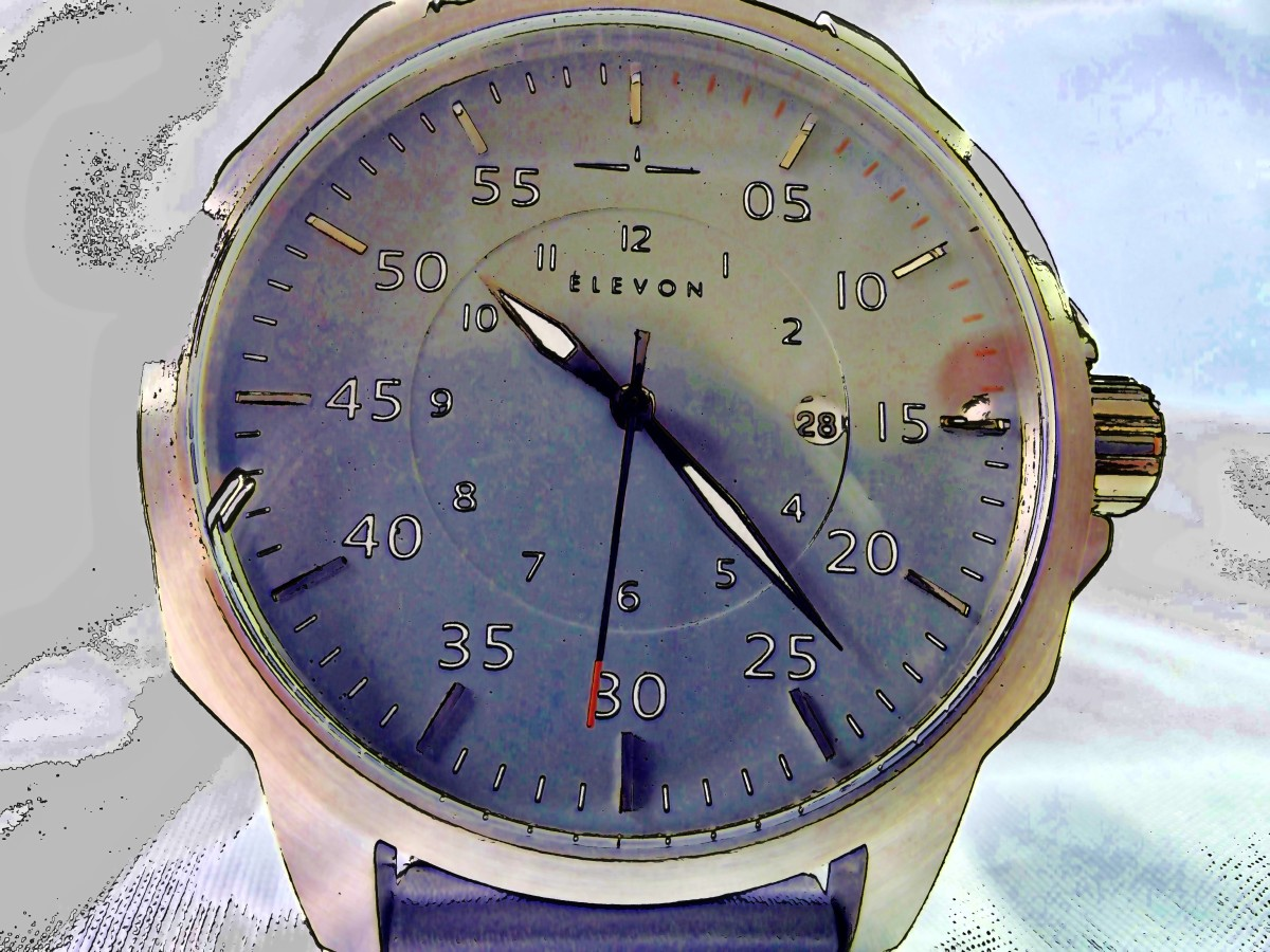 Review of the Evelon Hughes Quartz Watch