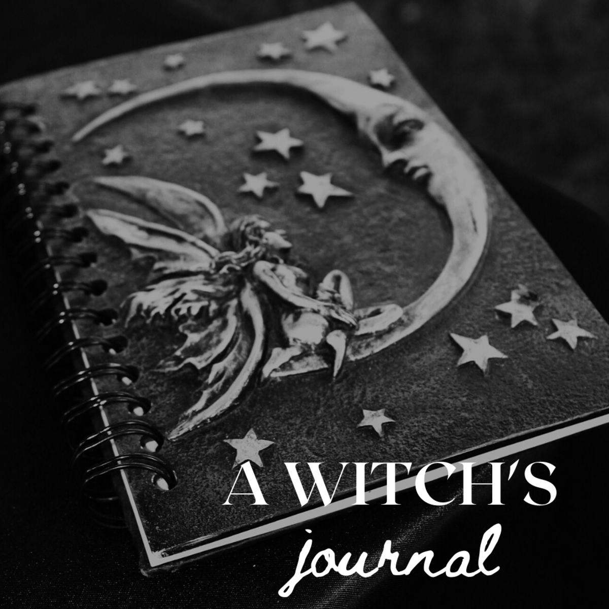 A Witch's Book of Shadows, Journal, Spell Book, or Grimoire