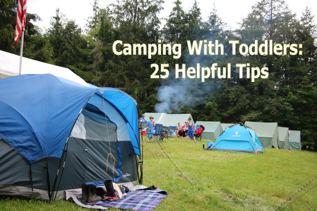 Camping with very young children requires special preparation to make the trip a success!