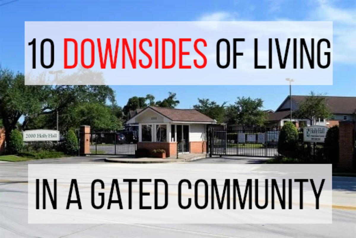 Living in a gated community has become increasingly popular in recent years, but the experience is not for everyone. Read on for 10 negatives associated with living in a gated community...