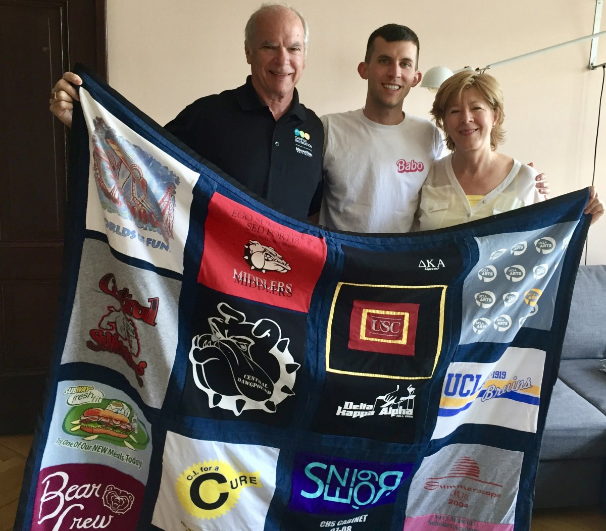 How to Make a T-Shirt Memory Quilt