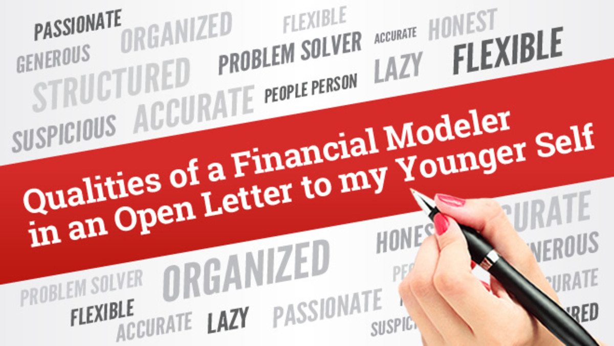 Qualities a Financial Modeler Needs to Have