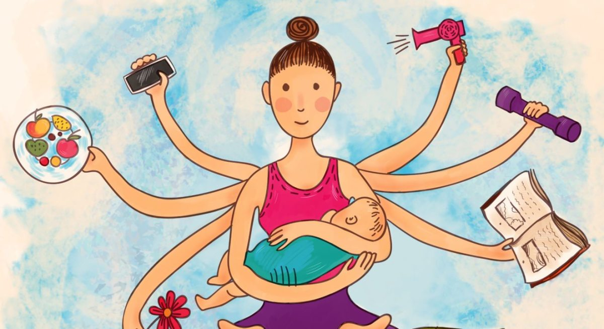 What Does a Stay-at-Home Mom Do All Day?