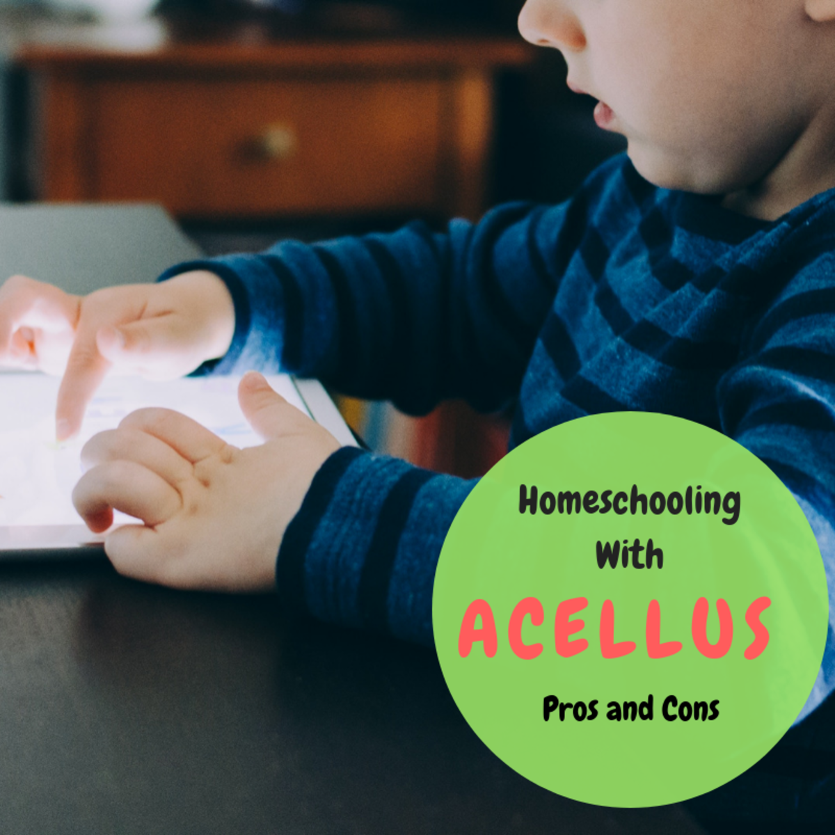 Acellus allows students to study at their own pace online.