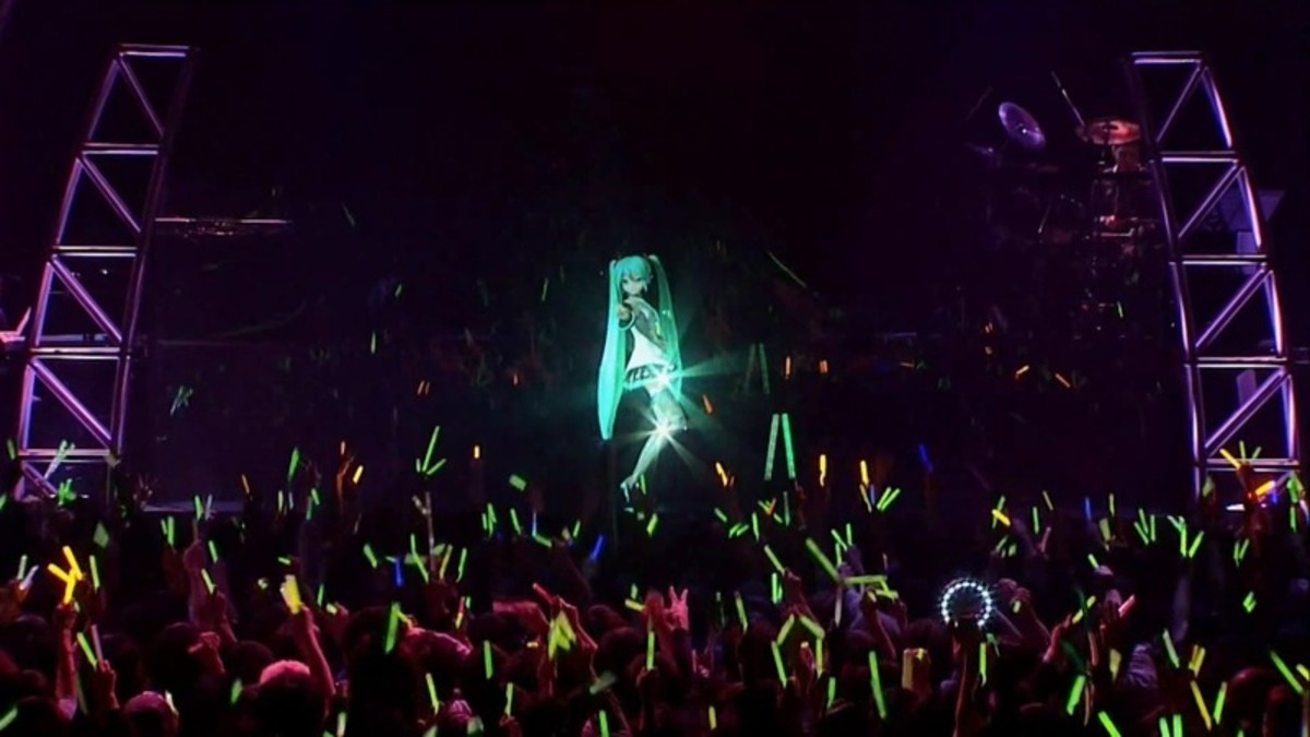 Miku Hatsune has performed live at sold out concerts in Japan, the US, Germany, and many other countries all over the world.