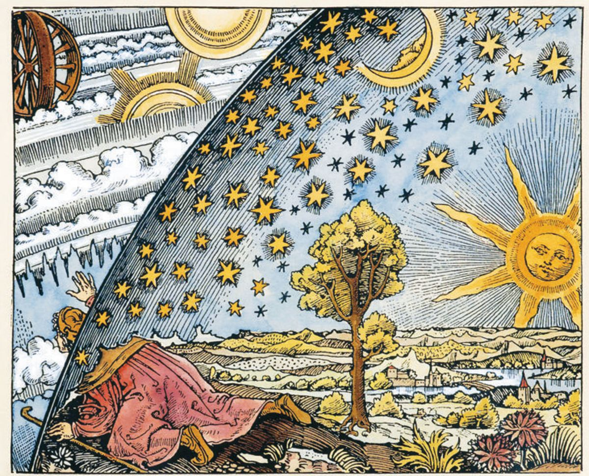 By modern standards, medieval people had an unusual view of heaven and earth