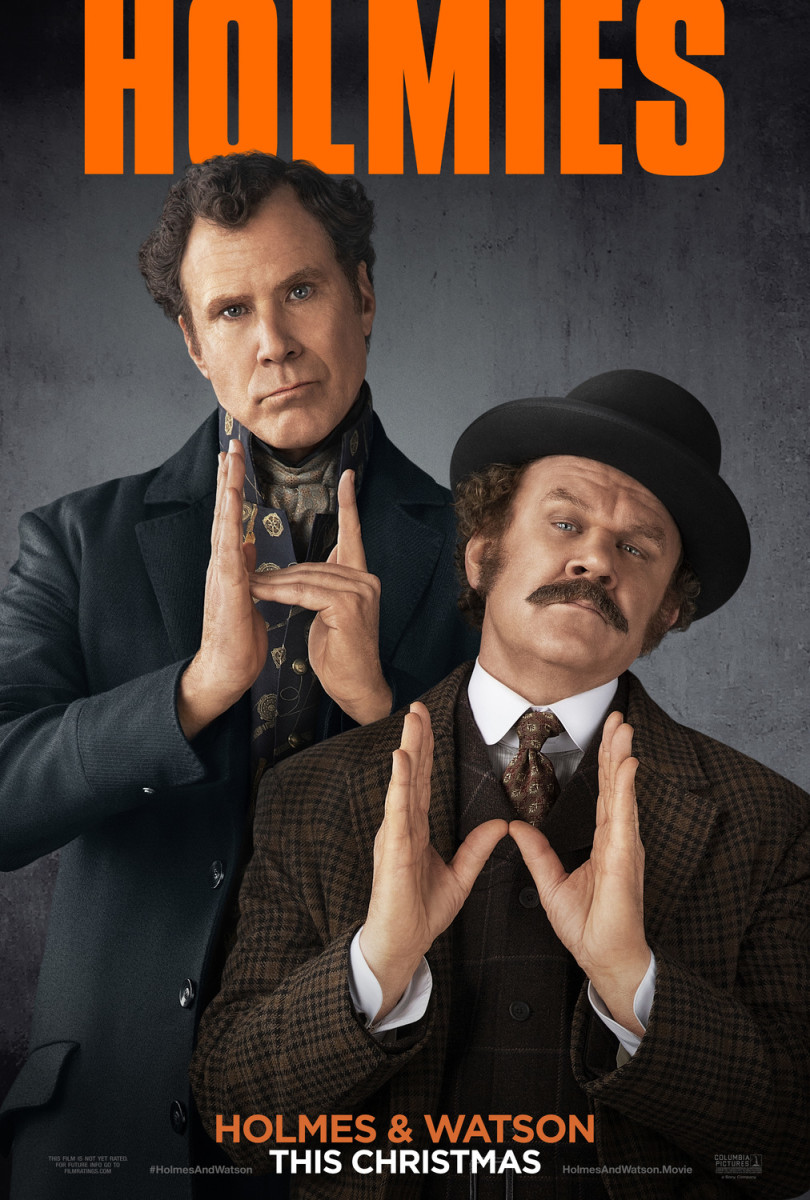 "Movie Review: ""Holmes & Watson"""