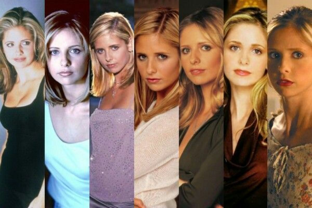 "The (Hair)volution of Buffy Summers From ""Buffy the Vampire Slayer"""
