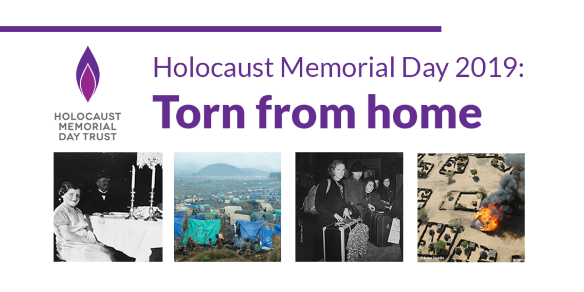 Holocaust Memorial Day:  Don't Ever Forget