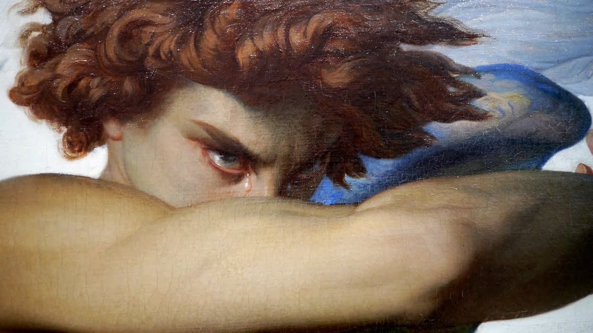 The Mourning Star: a Poem inspired by the painting of Alexandre Cabanel.