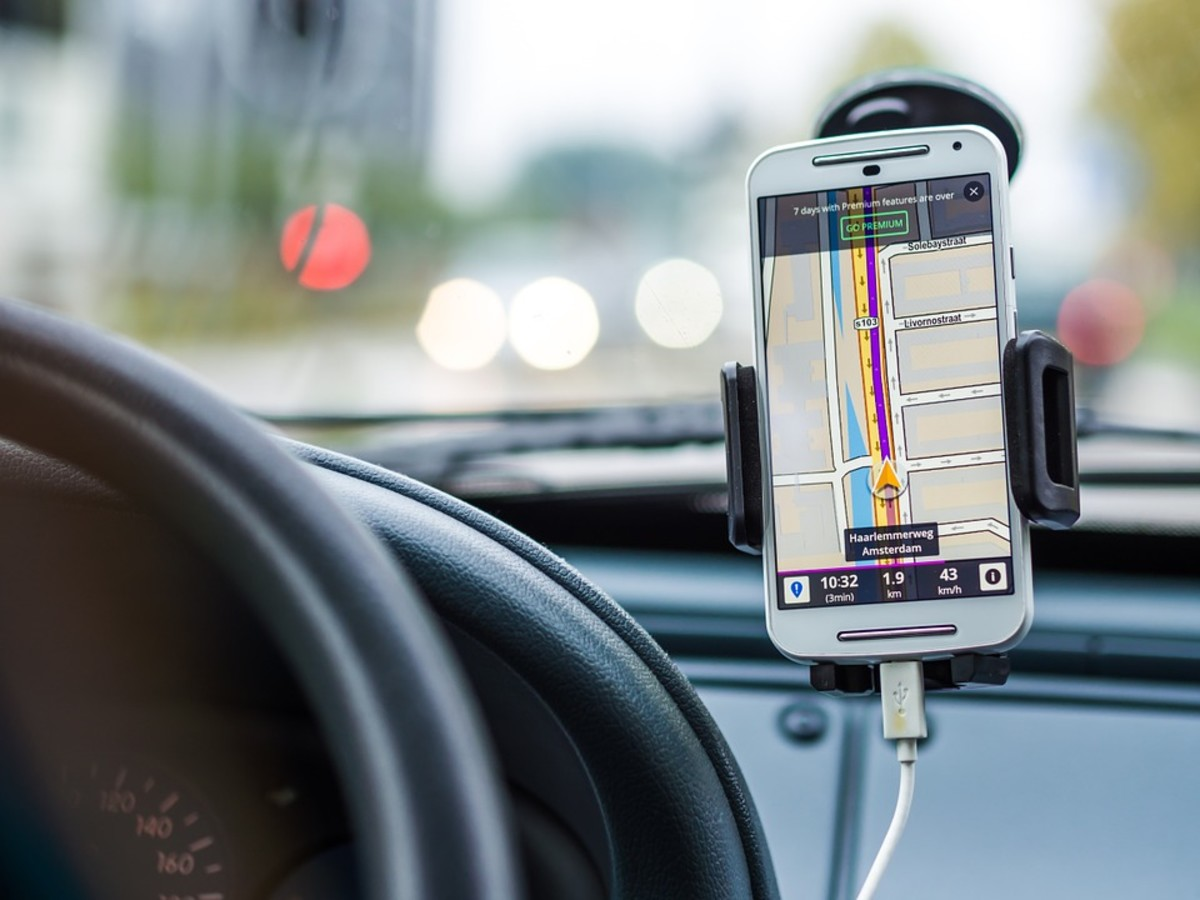 GPS systems can be combined with map technology and incorporated into smartphones, meaning that most people now have access to advanced navigation.
