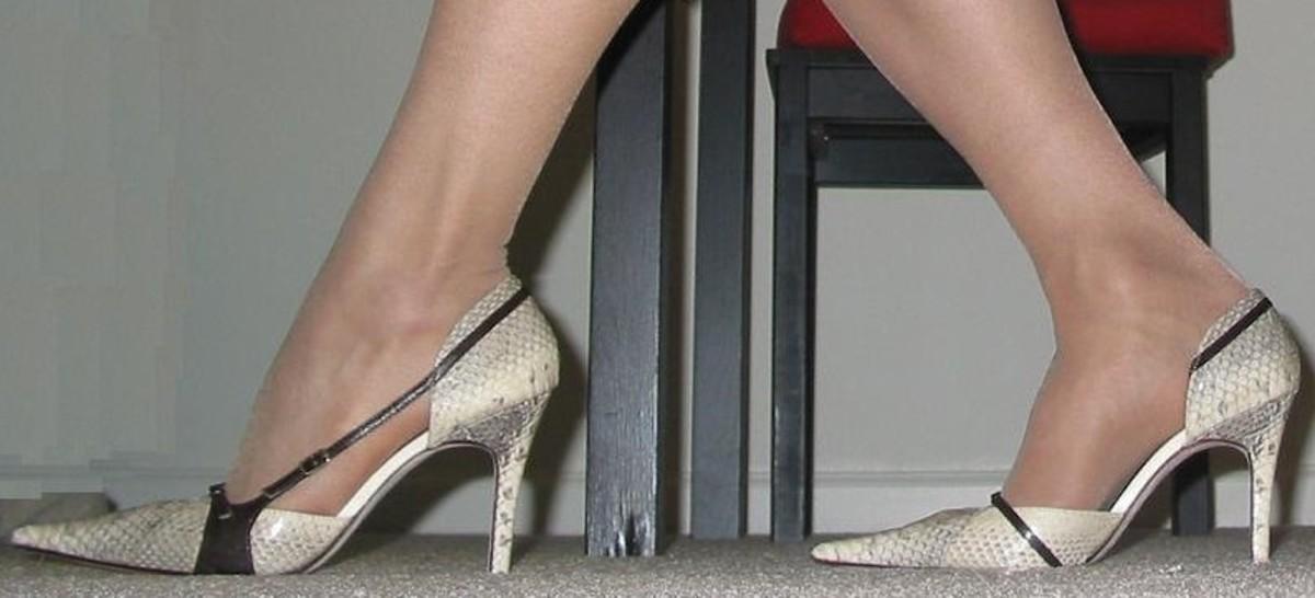 Womens high heels.