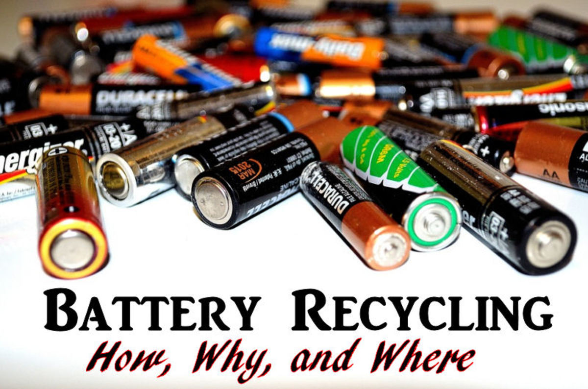 Learn the whys, wheres, and hows of battery recycling.