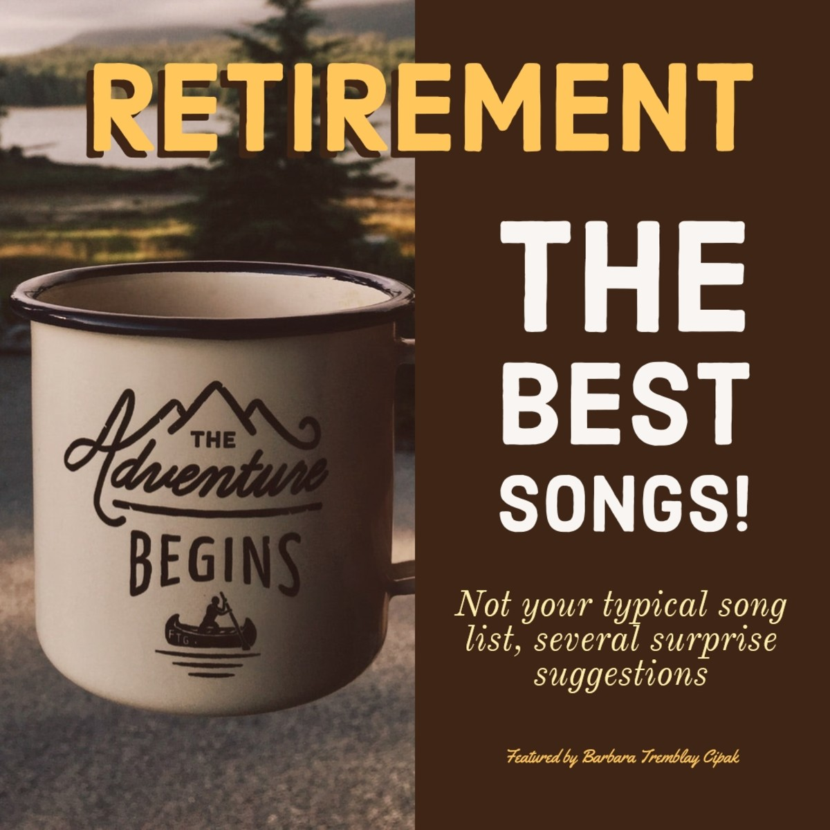 The best songs for retirement. Not your typical song choices. Add these to your retirement playlist.