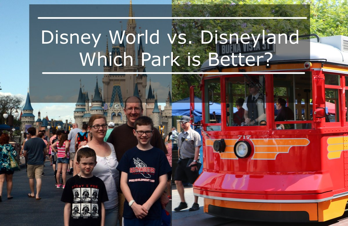 Our family has visited both Disney parks in the USA and we like both of them, though there are distinctive differences between the two resorts!