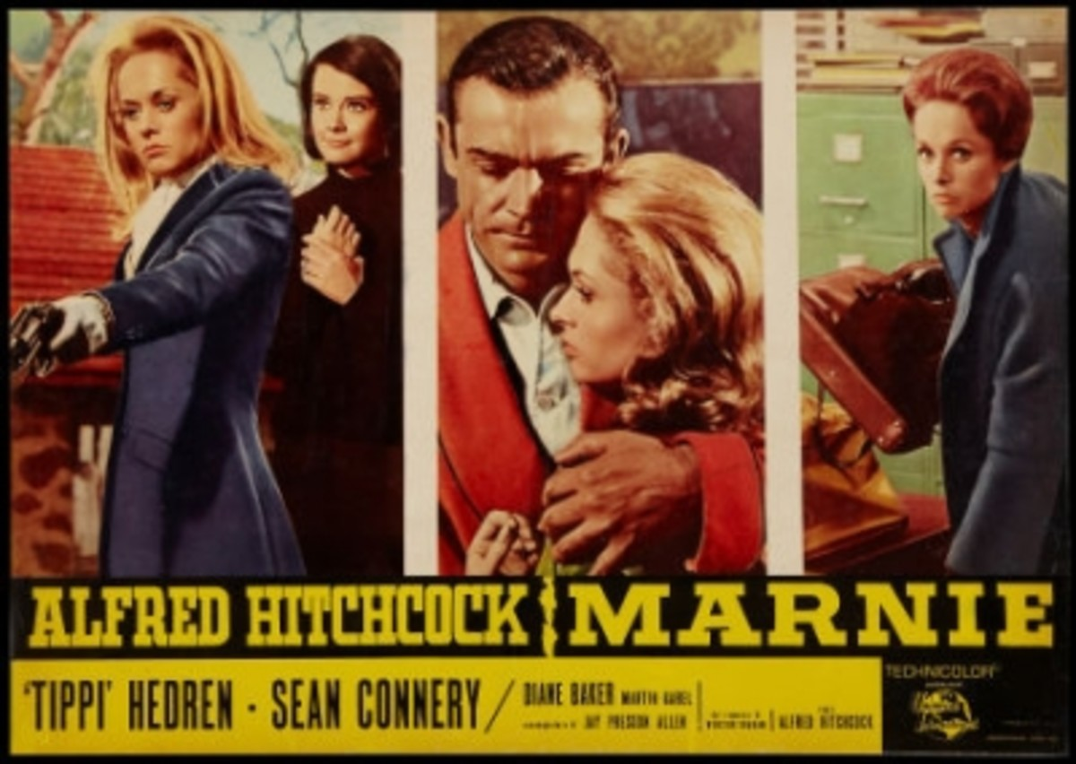 Marnie, a movie by Alfred Hitchcock