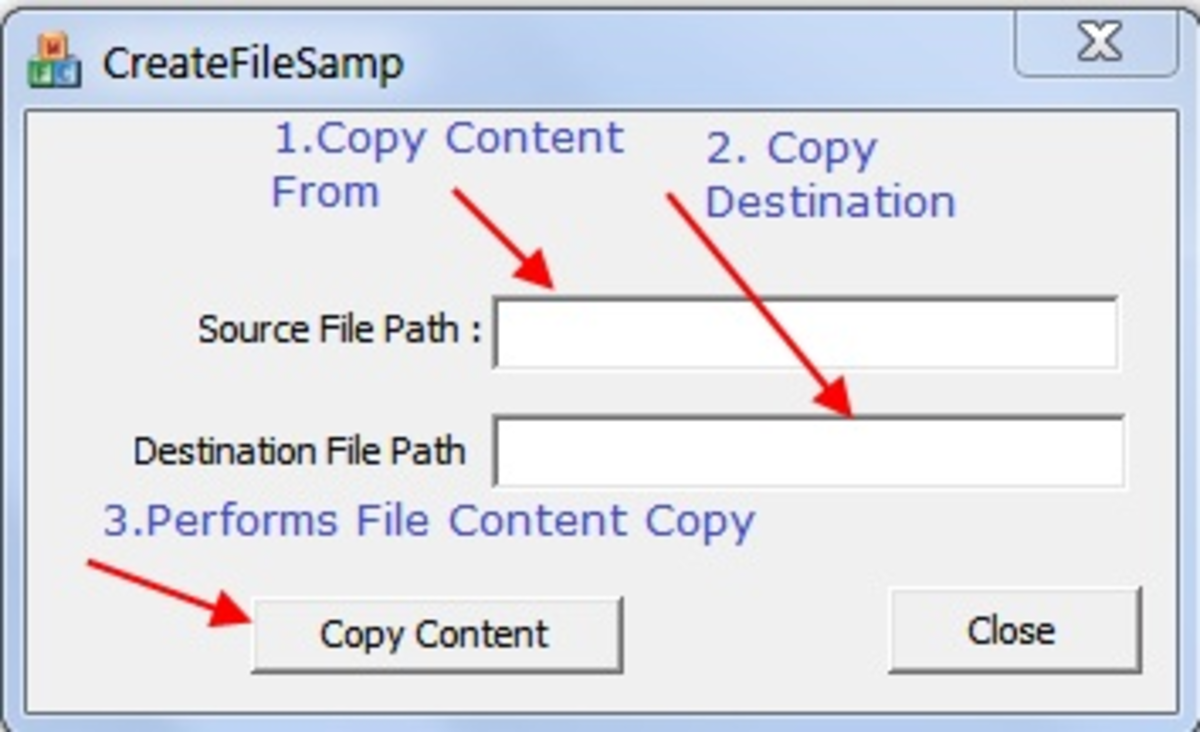 Win32 File Processing Example