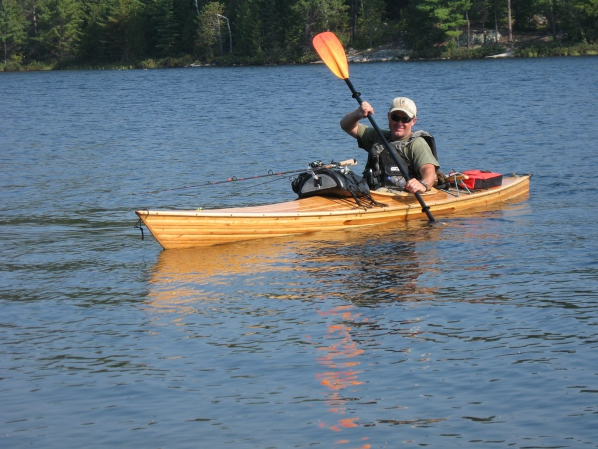 How to Make Foot Braces for a Wooden Kayak or Canoe