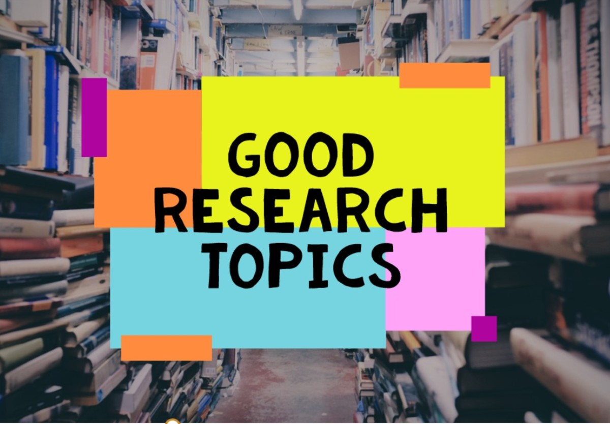 60 Good Research Topics With Examples and Ideas
